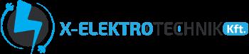 X-Elektrotechnik Kft. Logo